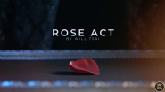 Visual Matrix AKA Rose Act Elegant Gold (Gimmick and Online Instructions) by Will Tsai and SansMind